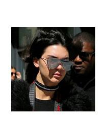Gafas De Moda En Forma De Letra B