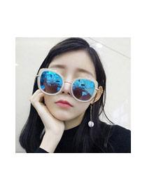 Gafas De Sol Belleza Decorado Con Marco Grande