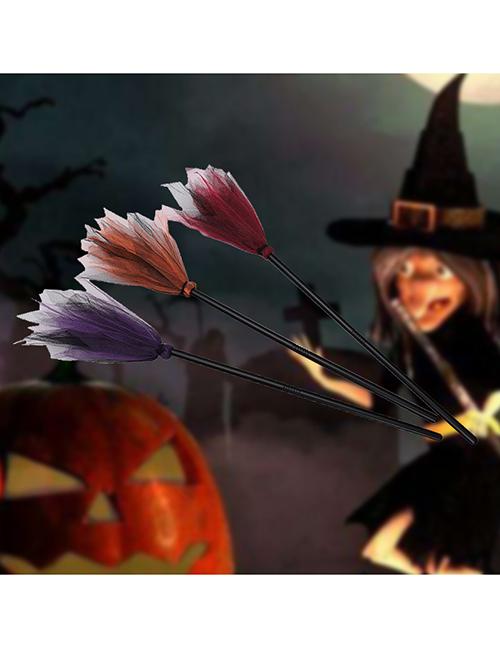 Escoba De Bruja De Halloween