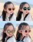 Fashion Pink Children S Sunglasses With Anti-ultraviolet Resin Rabbit Ears