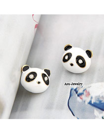 Little White Lovely Panda Design