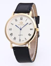 Reloj De Moda Del Estilo Clasico Decorado Con Numero