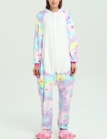 Pijama Colorida Estampada De Estrellas