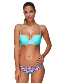 Bohemia Bikini Estampado De Moda