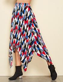 Falda Estampada Geométrica