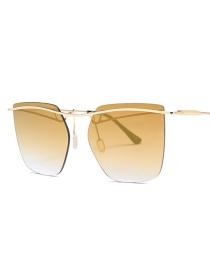 Gafas De Sol Irregular De Moda