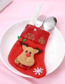 Navidad Calcetín De Moda