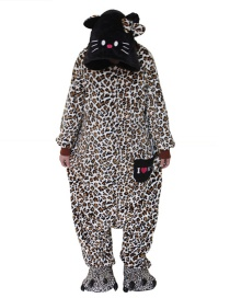 Pijama De Anime De Kt Gato De Leopardo