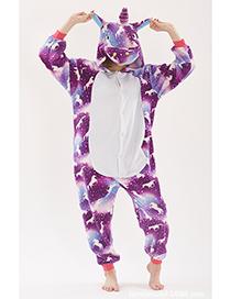 Pijama De Unicornio De Puntos