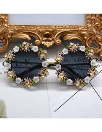 Ojo De Pez Corona Tallada Gafas De Sol