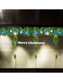 Vinilo Decorativo De Hoja De Árbol De Navidad