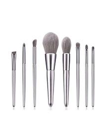 Set De 8 Pinceles De Maquillaje