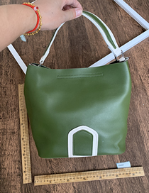 Bolso De Mano Pu Ink Green