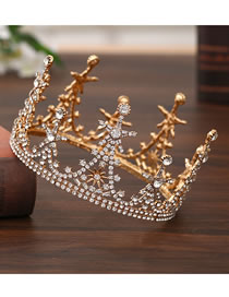 Aleación Rhinestone Sun Flower Crown
