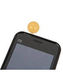Connor Orange Round Shape Acrylic Mobile phone products