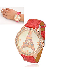 Lariat Red Eiffel Tower