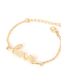 Luxurious Gold Color Personality Love Design