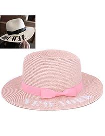 Temperament Light Pink Bowknot Shape Simple Design