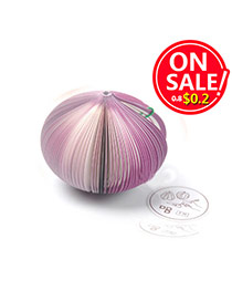 Fashion Purple Cartoon Onion Shape Simple Design