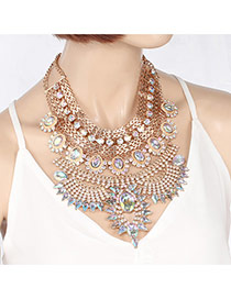 Collar De Multi-capa Diseñado Del Estilo Lujoso