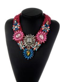 Collar De Moda Del Estilo Bohemia Decorado Con Geometria